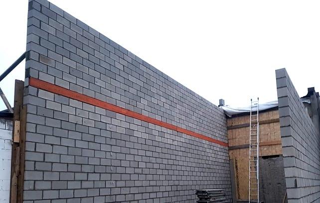 cinder block Installation