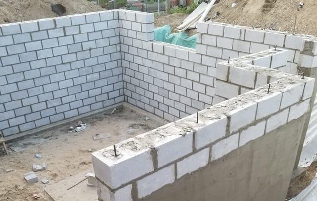 fondation walls